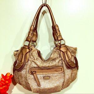 Jessica Simpson Metallic Hobo  Bag